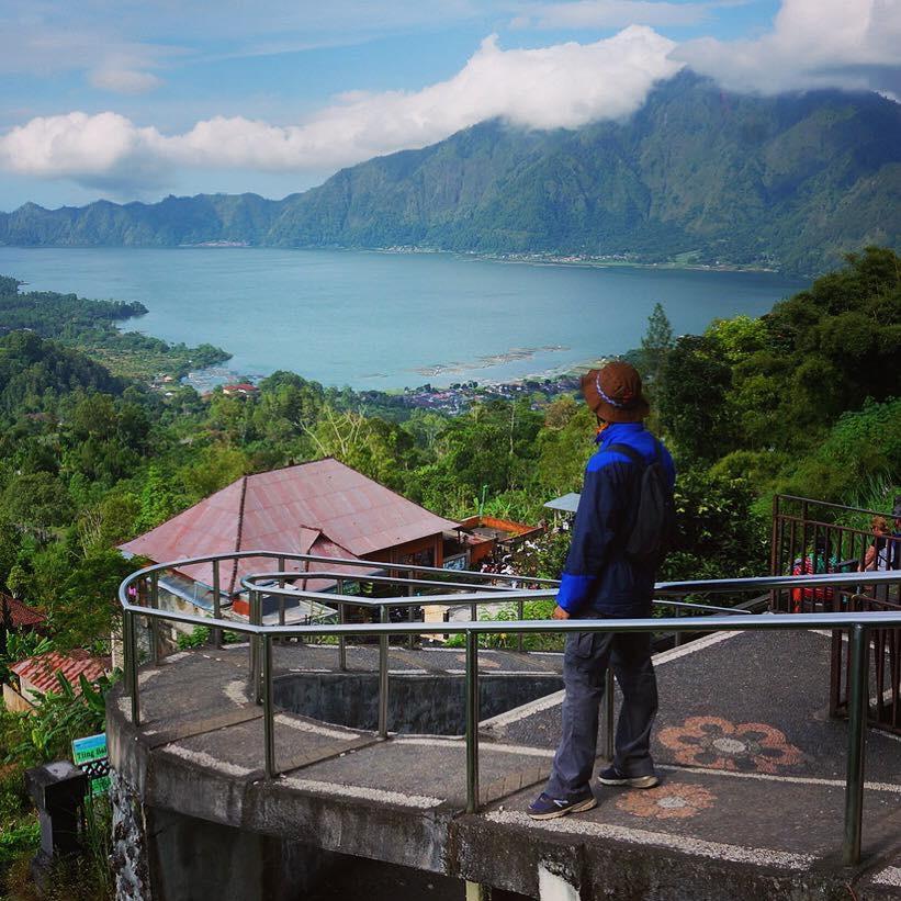 Endonezya Bali - Batur Dağı ve Gölü