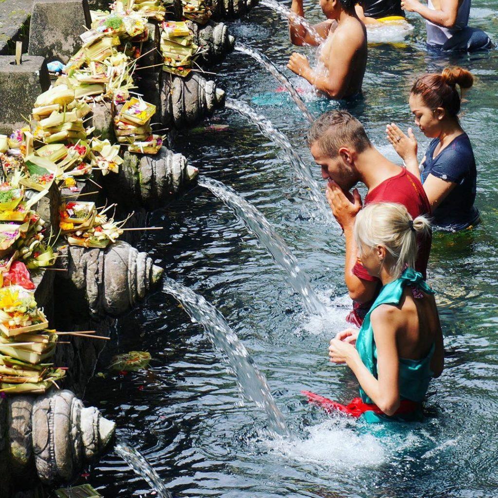 Endonezya Bali - Pura Tirta Empul Tapınağı