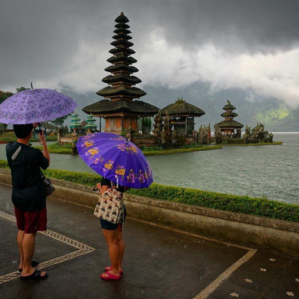 Endonezya Bali - Pura Ulun Danu Buyan Gölü ve Tapınağı